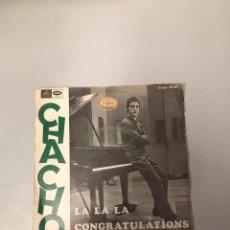 Discos de vinil: CHACHO. Lote 176185004