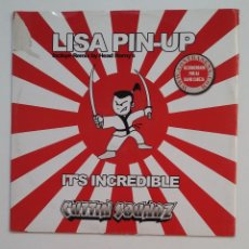 Discos de vinilo: LISA PIN-UP. REMIX BY HEAD HONRY'S INCREDIBLE. CUTTIN SOUND Z. MAXI SINGLE. TDKDA63. Lote 176194189
