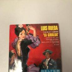 Discos de vinilo: LUIS RUEDA. Lote 176196607