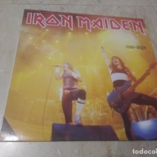 Discos de vinilo: IRON MAIDEN ‎– RUNNING FREE / SANCTUARY / MURDERS IN THE RUE MORGUE / LP, MAXI-SINGLE-1985-EEC-. Lote 176197583
