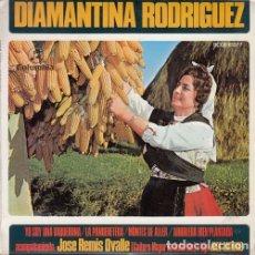 Dischi in vinile: DIAMANTINA RODRIGUEZ - YO SOY UNA VAQUEIRINA - EP DE VINILO ASTURIANADA #. Lote 176198650