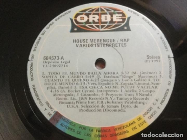 Discos de vinilo: House Merengue /Rap - Foto 4 - 176214838