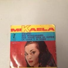 Discos de vinilo: MIKAELA. Lote 176217232
