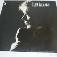 Discos de vinilo: LP - CLIFF RICHARD - ALWAYS GUARANTEED - 1987. Lote 176222150