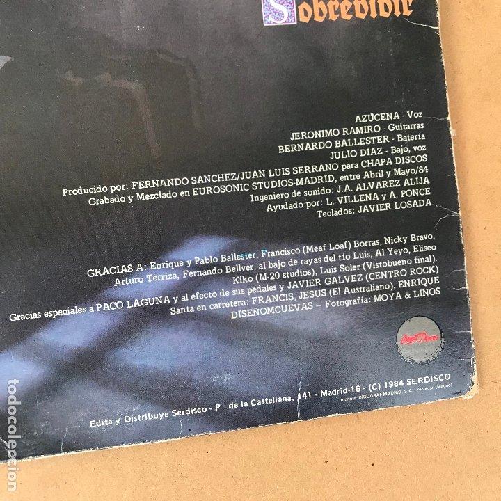 Discos de vinilo: Santa - reencarnacion - LP + encarte - Disco en perfecto estado original de epoca - Foto 3 - 176223098