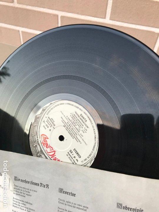 Discos de vinilo: Santa - reencarnacion - LP + encarte - Disco en perfecto estado original de epoca - Foto 4 - 176223098