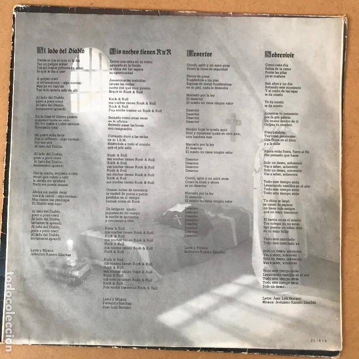 Discos de vinilo: Santa - reencarnacion - LP + encarte - Disco en perfecto estado original de epoca - Foto 5 - 176223098