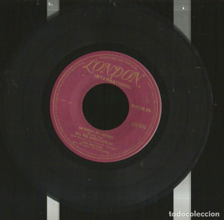 Discos de vinilo: EP LOS BRAVOS : BLACK IS BLACK (EDICION PORTUGAL, EXCELENTE ESTADO ) - Foto 3 - 176223429