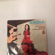 Discos de vinilo: AMINA. Lote 176224903