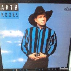 Disques de vinyle: GARTH BROOKS ROPIN THE WIND -LP EDICION ESPAÑOLA 1992.. Lote 176234820