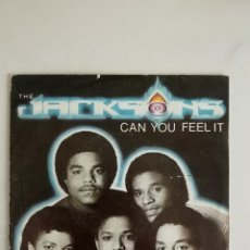 Discos de vinil: THE JACKSONS CAN YOU FEEL IT. Lote 191565626