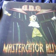 Discos de vinilo: UDO - MASTERCUTOR ALIVE (2 LP). NUEVO. Lote 175721887