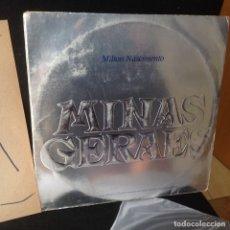 Discos de vinilo: MILTON NASCIMENTO – MINAS GERAES -DOBLE LP EDICION LIMITADA NUMERADA.. Lote 176239627