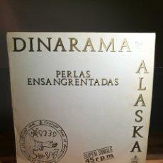 Discos de vinilo: ALASKA Y DINARAMA PERLAS ENSANGRENTADAS | ALASKA + DINARAMA | MAXI SINGLE 12 VINILO HISPAVOX 1983 ES. Lote 176239930