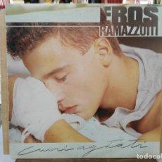 Discos de vinilo: EROS RAMAZZOTTI - CUORI AGITATI - LP. DEL SELLO HISPAVOX 1985. Lote 204250296