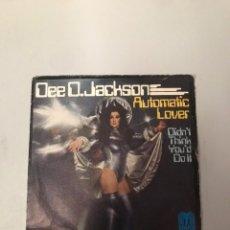 Discos de vinilo: DJ JACKSON AUTOMATIC LOVER. Lote 176252299