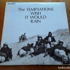 Discos de vinilo: THE TEMPTATIONS - WISH IT WOULD RAIN 1968 ORIGINAL USA LP. Lote 176253803
