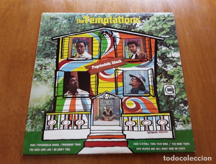 THE TEMPTATIONS- PSYCHEDELIC SHACK (GORDY GS947 - USA 1970) ORIGINAL SOUL LP (Música - Discos - LP Vinilo - Funk, Soul y Black Music)