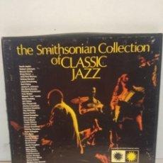 Discos de vinilo: THE SMITHSONIAN COLLECTION OF CLASSIC JAZZ. REF- P6 11891.6 VINILOS MUY BUEN ESTADO. Lote 176255504