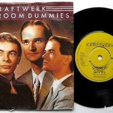 Discos de vinilo: KRAFTWERK - SHOWROOM DUMMIES - SINGLE EMI 1982 UK BPY. Lote 176260688