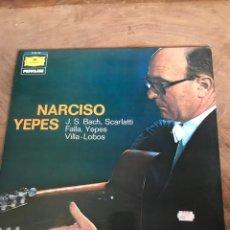Discos de vinilo: NARCISO YEPES. Lote 176264342