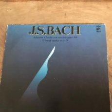 Discos de vinilo: JS BACH. Lote 176265629