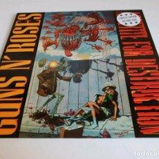 Discos de vinilo: GUNS N ROSES -APPETITE FOR DESTRUCTION- LP PICTURE WITH COVER-. Lote 176266297