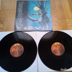 Discos de vinilo: VINILO IRON MAIDEN - FEAR OF THE DARK. SPAIN 1992.. Lote 176267948