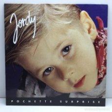 Discos de vinilo: LP - DISCO - VINILO - JORDY - POCHETTE SURPRISE - 1992. Lote 176273215