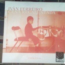 Discos de vinilo: IVAN FERREIRO LP DOBLE CENA RECALENTADA HOMENAJE A GOLPES BAJOS 2018 PRECINTADO LOS PIRATAS. Lote 176278822