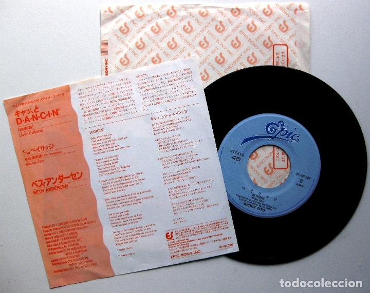 Discos de vinilo: Beth Andersen - Dancin / Bayridge - Single Epic 1985 Japan (Edición Japonesa) BPY - Foto 2 - 176280774