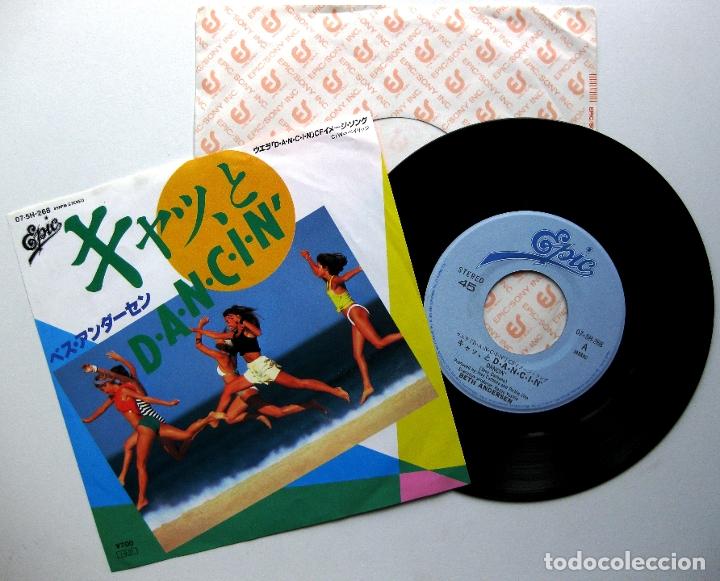 BETH ANDERSEN - DANCIN' / BAYRIDGE - SINGLE EPIC 1985 JAPAN (EDICIÓN JAPONESA) BPY (Música - Discos de Vinilo - Singles - Pop - Rock Internacional de los 80)
