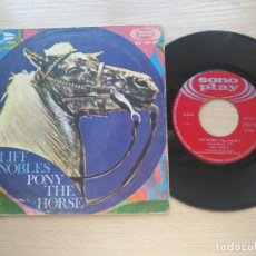 Discos de vinilo: CLIFF NOBLES - PONY THE HORSE / LITTLE CLAUDIE CALLA RECORDS 1968. Lote 176285393