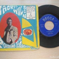 Discos de vinilo: SINGLE (VINILO) JACKIE WILSON SINCE YOU SHOWED ME HOW TO BE HAPPY -DECCA 1963. Lote 176286922