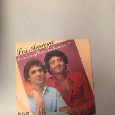 Discos de vinilo: LOS AMAYA. Lote 176287629