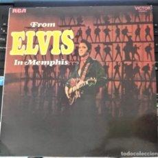 Discos de vinilo: FROM ELVIS IN MEMPHIS - LP - RCA 1987 (ETIQUETA NEGRA) ELVIS PRESLEY. Lote 176291993