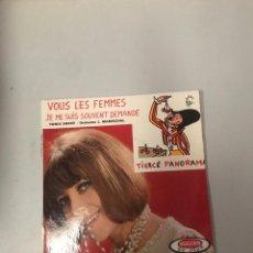 Discos de vinilo: VOUS LES FEMMES. Lote 176298905