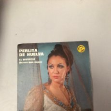 Discos de vinilo: PERLITA DE HUELVA. Lote 176300262