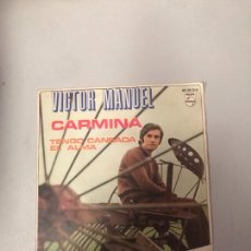 Discos de vinilo: VÍCTOR MANUEL. Lote 176301449
