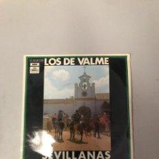Discos de vinilo: LOS DE VALME. Lote 176301703