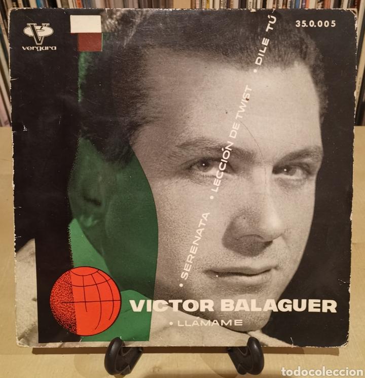 VÍCTOR BALAGUER -EP- LLÁMAME + 3 SPAIN 60,S EUROVISIÓN (Música - Discos de Vinilo - EPs - Festival de Eurovisión)