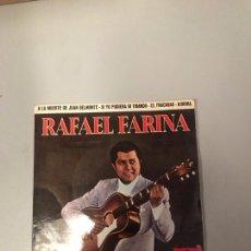 Discos de vinilo: RAFAEL FARINA. Lote 176304682