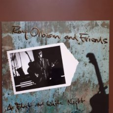Discos de vinilo: ROY ORBISON AND FRIENDS - A BLACK AND WHITE NIGHT. LIVE - VIRGIN - 1989 - VG+. Lote 192108653