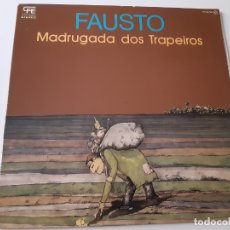 Discos de vinilo: FAUSTO- MADRUGADA DOS TRAPEIROS - SPAIN PROMO LP 1977 + ENCARTE- VINILO COMO NUEVO.. Lote 176323387