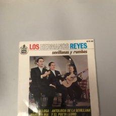 Discos de vinilo: LOS HERMANOS REYES. Lote 176330130