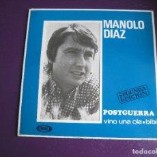 Discos de vinilo: MANOLO DIAZ EP SONOPLAY 1967 2ª EDICION - POSTGUERRA +3 - POP BEAT 60'S - LOS BRAVOS . Lote 176338972