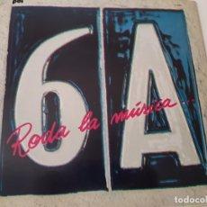 Discos de vinilo: SISA- RODA DE MUSICA - LP 1989 + ENCARTE - VINILO EXC. ESTADO.. Lote 176341093
