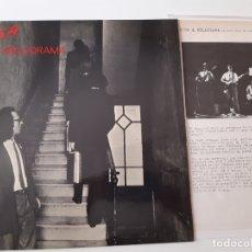 Discos de vinilo: SISA & MELODRAMA - LP 1979 + HOJAS PROMO RADIO - VINILO COMO NUEVO.. Lote 176341544