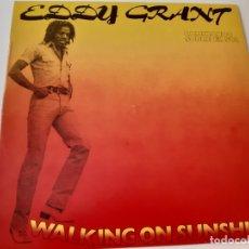 Discos de vinilo: EDDY GRANT- WALKING ON SUNSHINE - SPAIN LP 1980- VINILO COMO NUEVO.. Lote 176344024