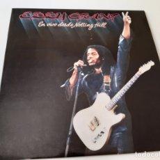 Discos de vinilo: EDDY GRANT- EN VIVO DESDE NOTTING HILL - SPAIN PROMO 2 LP 1982 - COMO NUEVO.. Lote 176344259